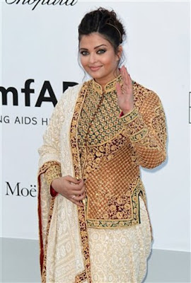 Aishwrya at cannes 2012