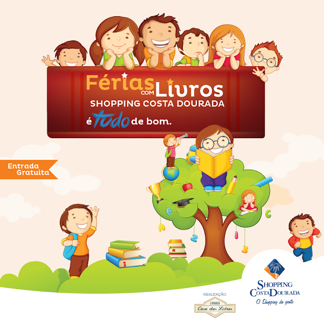 férias no Shopping Costa Dourada