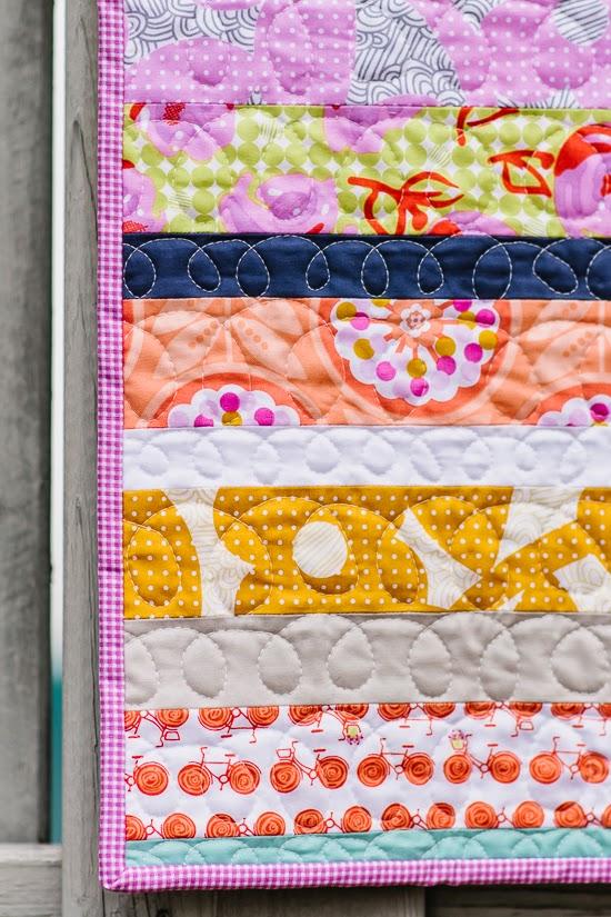 Bijou Lovely: Weekends Baby Quilt. : quilting weekends - Adamdwight.com