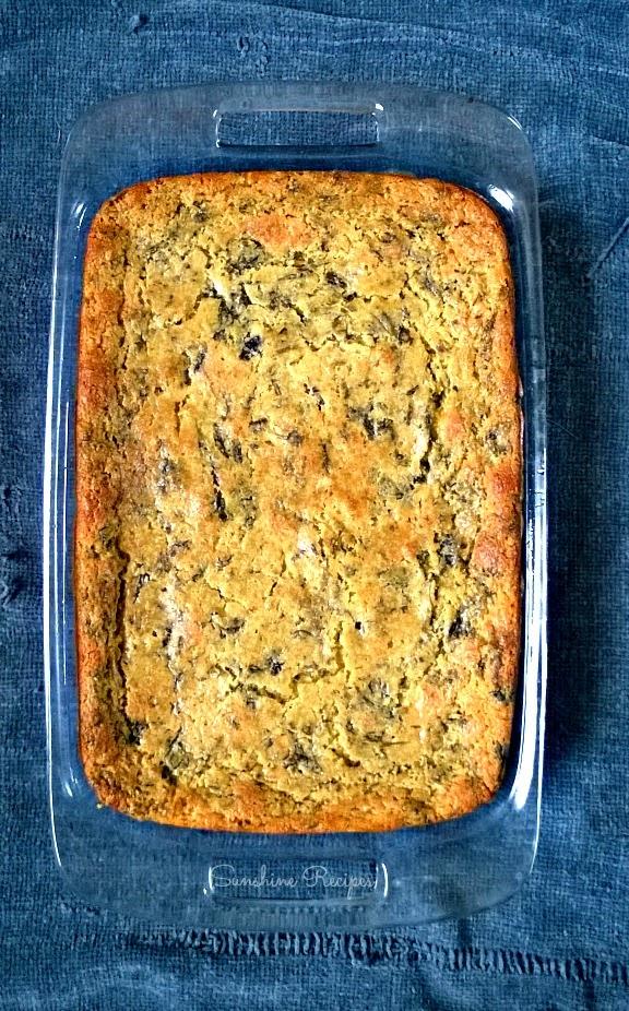 Spinach Artichoke Cornbread | Sunshine Recipes