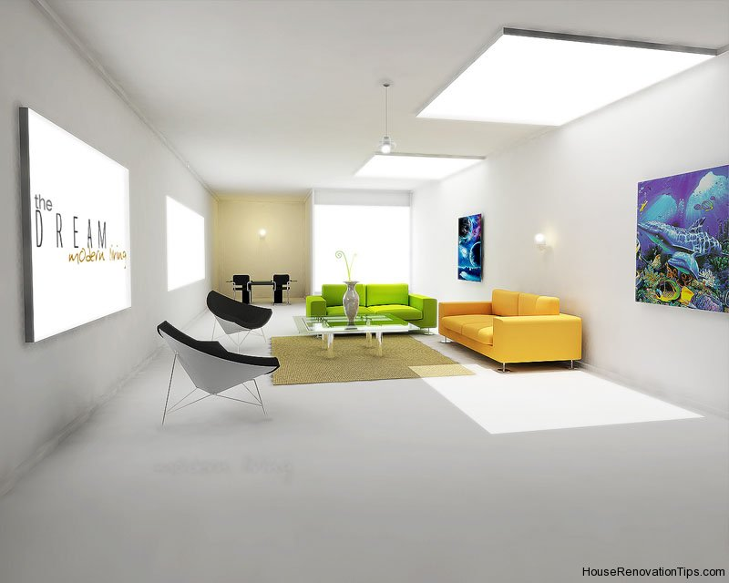 Modern home interior design interior decoration home for Modern interior design