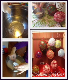 Yarn Balloon Pinterest Project