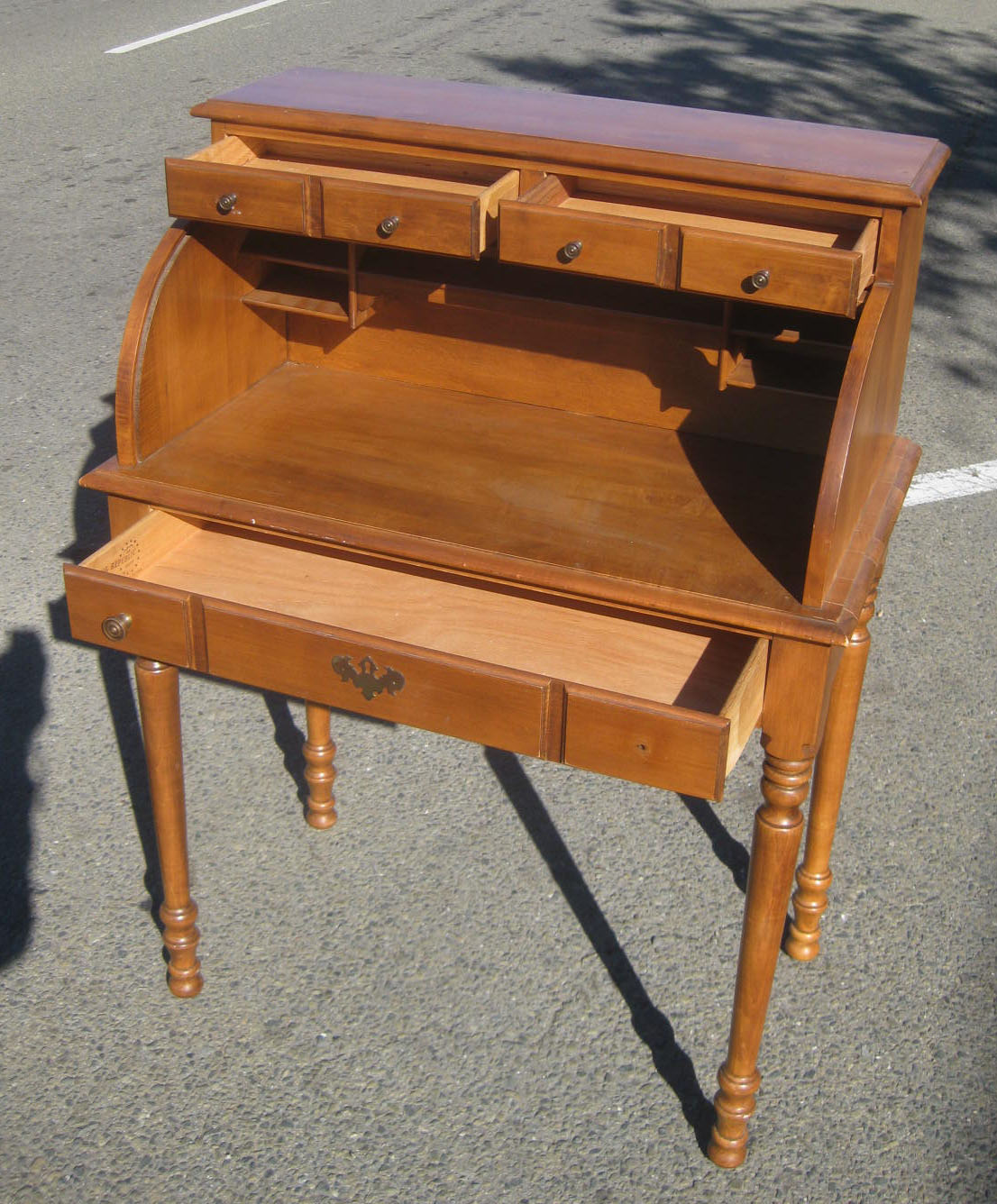 Uhuru Furniture Collectibles Sold Small Secretary