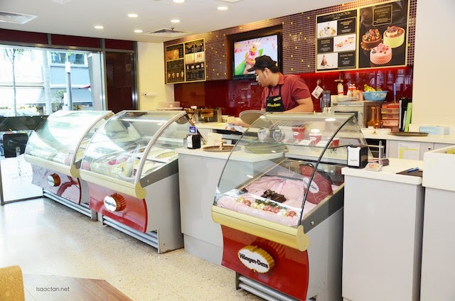 Haagen Dazs ice cream makes me happy