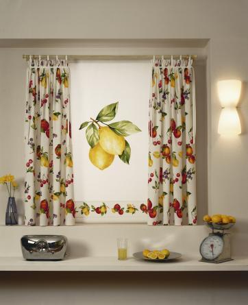 Alba hogar desde tu ventana de la cocina - Cortina cocina moderna ...