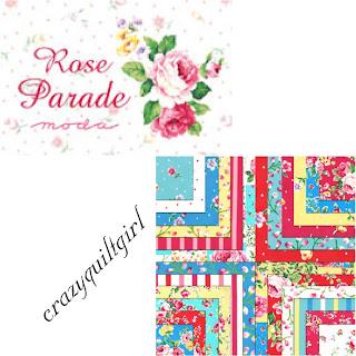 Moda ROSE PARADE Quilt Fabric