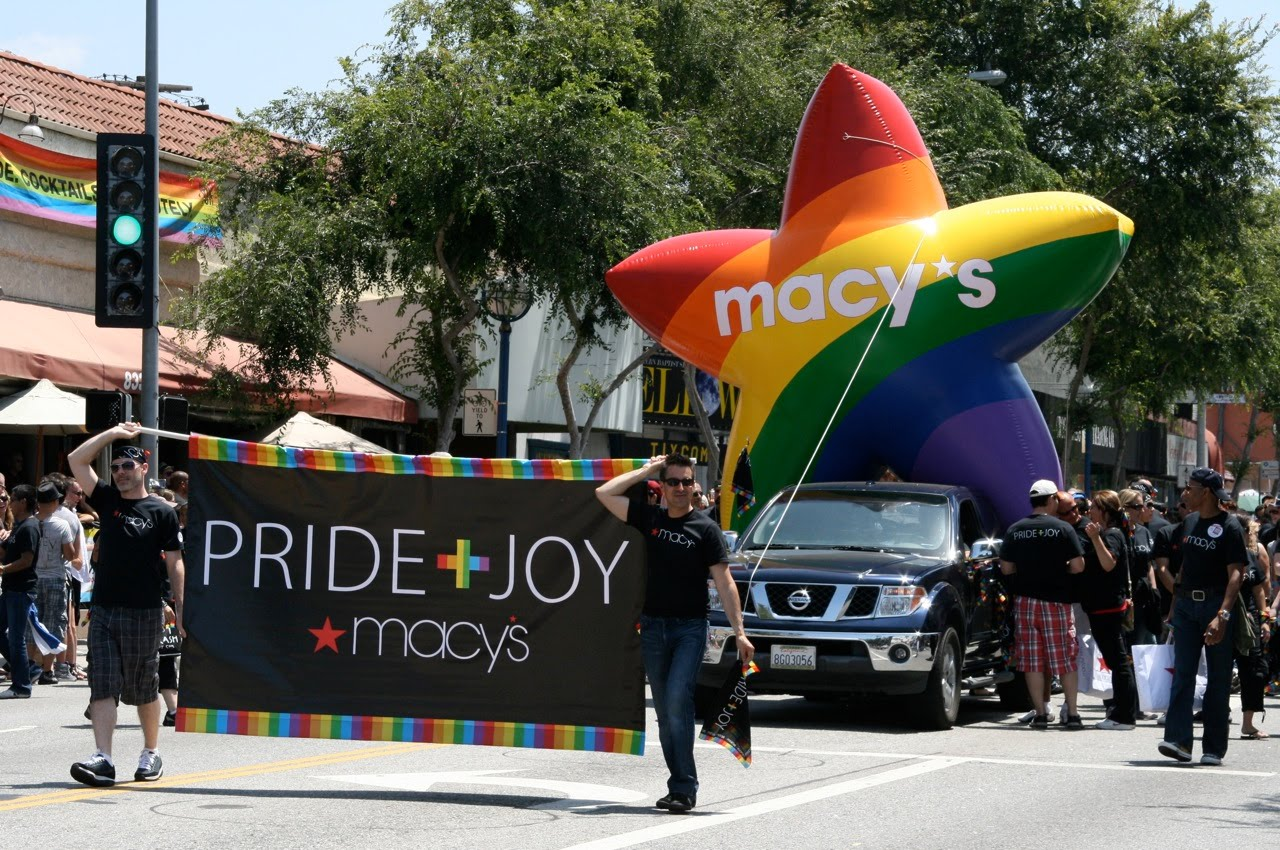 Macy's Pride and Joy Parade
