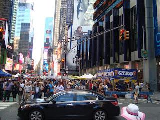 Passeio pela Times Squares e ruas adjacentes