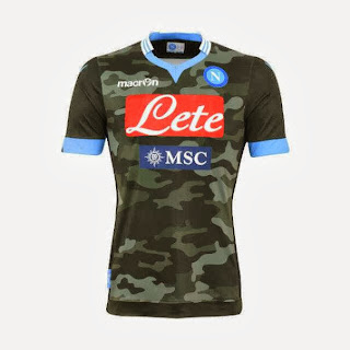 Napoli Jersey 3rd Away