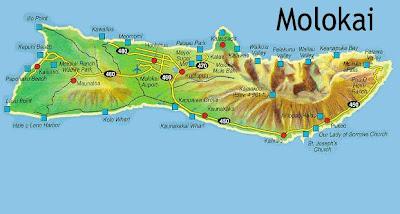 Molokai map to print out