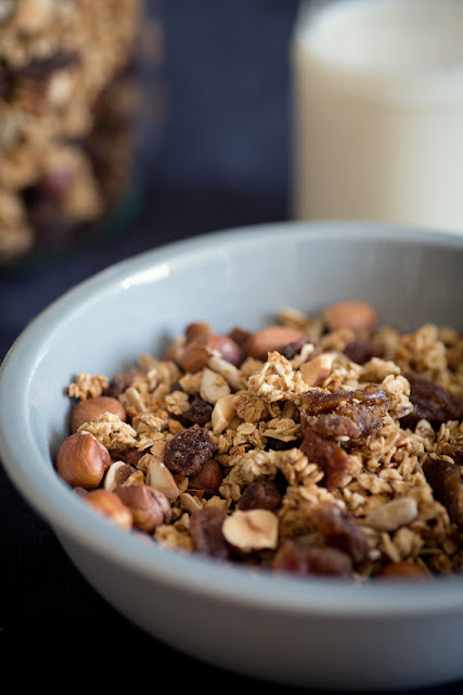 Homemade granola recipe www.hewdesign.co.uk