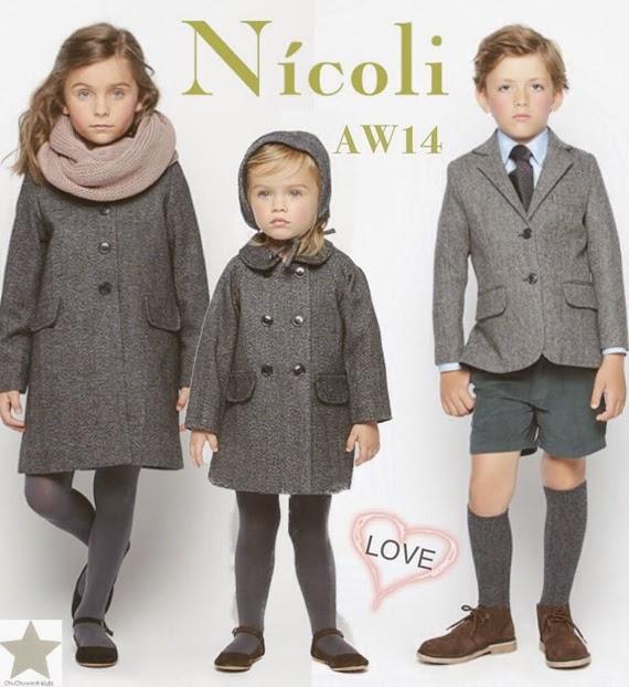 moda infantil nicoli