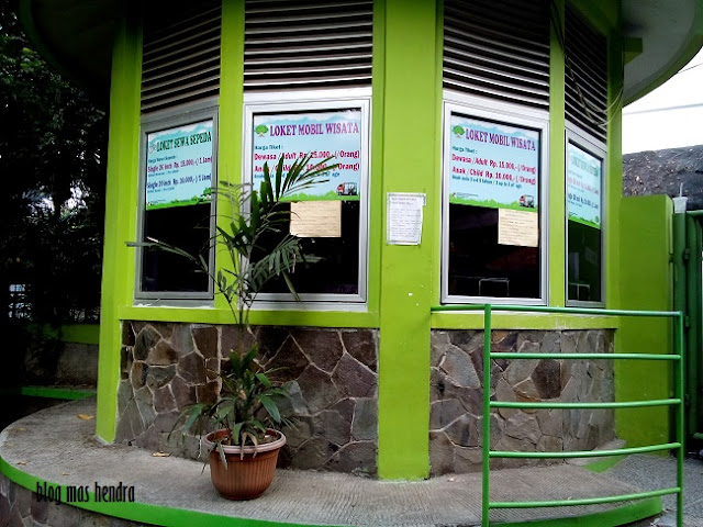 Loket Mobil Wisata Kebun Raya Bogor - Blog Mas Hendra