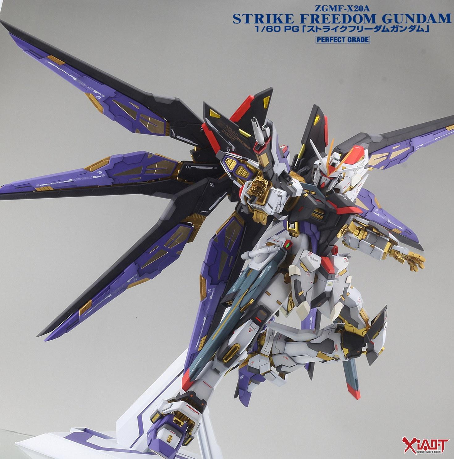 "Custom Build: ZGMF-X20A Strike Freedom Gundam ""Detailed ..."