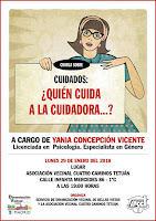 "Charla sobre ""Cuidados: ¿Quién cuida a la cuidadora...?"", por Yania Concepción Vicente"