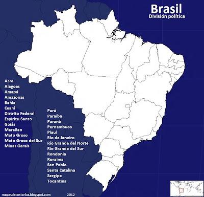 División política de Brasil