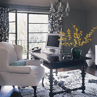 Modern Home Decor on Home Office Furnitures  Office Decoration  Modern Home Office