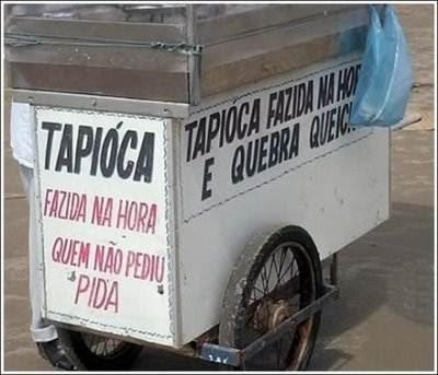 Placas com erros monstro de português