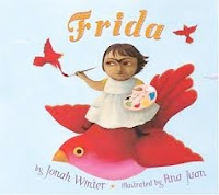 bookcover of Frida by Jonah Winter