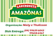 LANCHONETE AMAZONAS, BAIRRO VILA SANTA IZABEL.