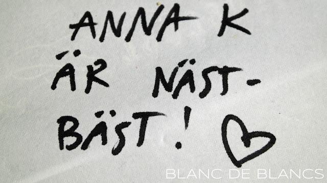Terveiset pöytäliinassa - www.blancdeblancs.fi