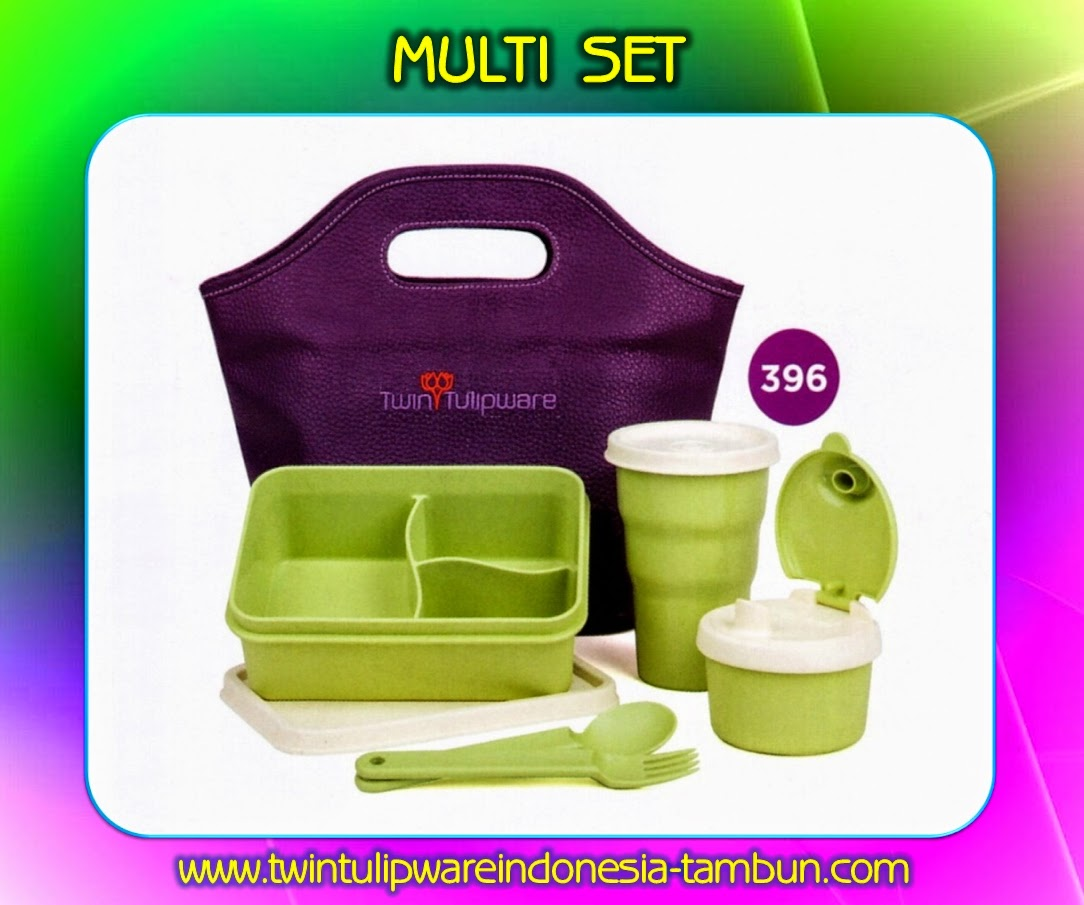 MULTI SET - Produk Tulipware Terbaru 2014