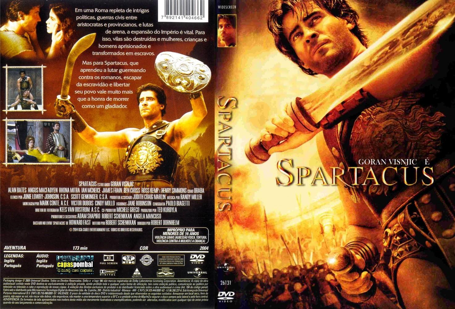 Filme Spartacus with capas filmes Épicos: spartacus