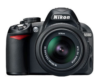 Nikon D3100 camera