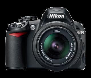 Nikon D3100 camera