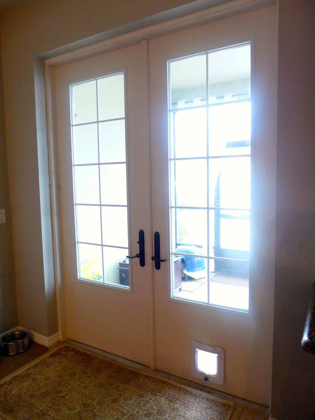 Custom French doors from Collis Roofing in Orlando