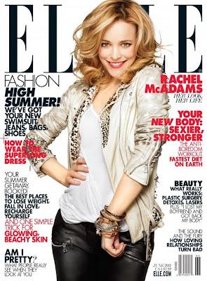 Rachel McAdams Covers Elle