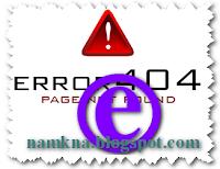 Các lỗi thường gặp và cách khắc phục trong quá trình duyệt Web - by: http://namkna.blogspot.com/