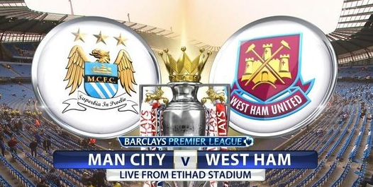 Live Streaming Manchester City vs West Ham United 19th ...
