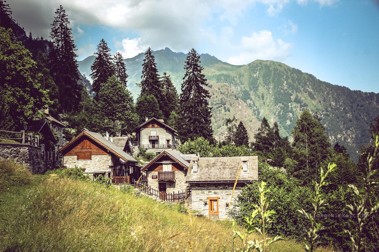 Bergdorf, Alpen