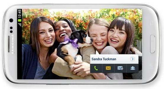 As facilidades do Galaxy S III