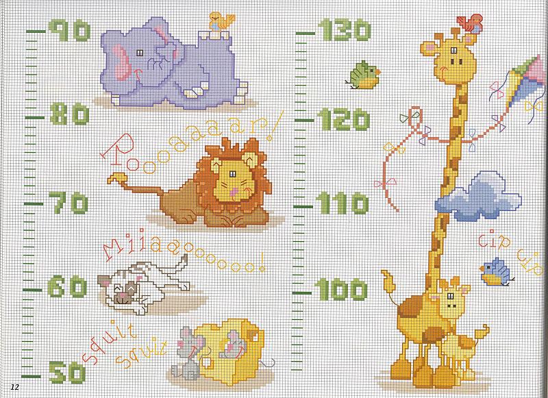 Patrones para bebé punto de cruz gratis - Imagui