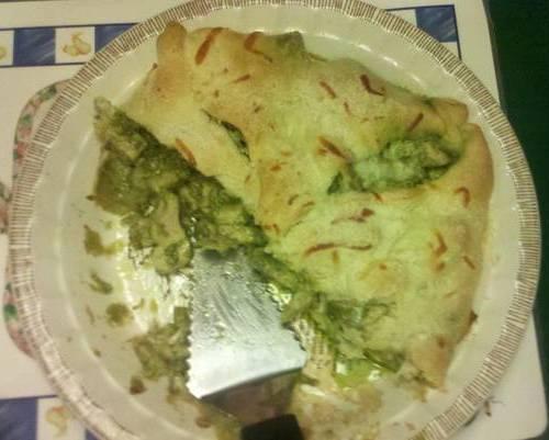 Gael's Crafty Treasures: Chicken Pesto Pie Recipe