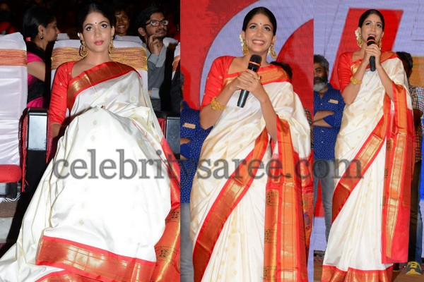 Lavanya Tripati Traditional Saree