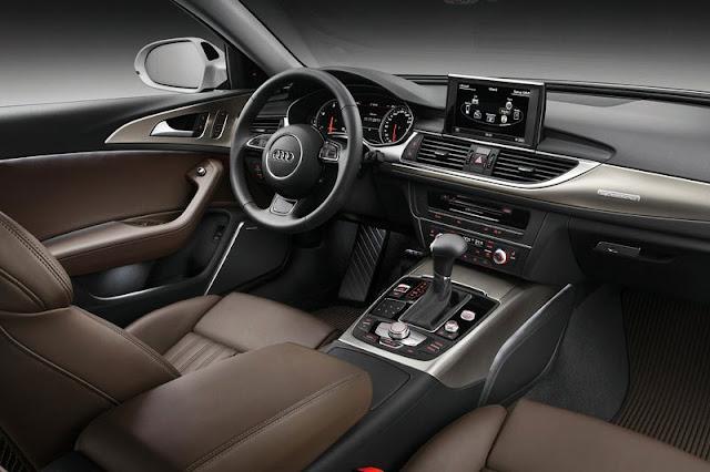 2013 Audi A6 Allroad Quattro Front Interior