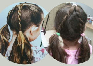 DISNEY FROZEN FEVERHAIRSTYLES rope ponies and trial style