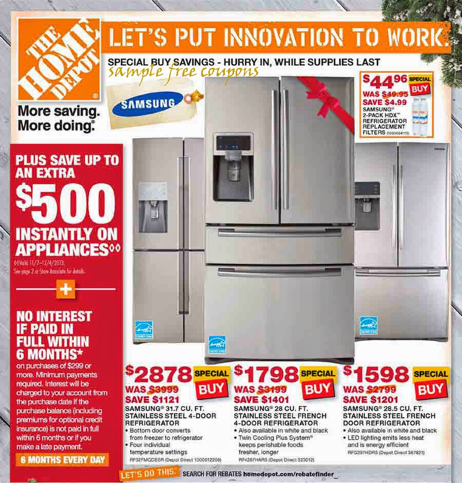 Home depot discount coupons ebay