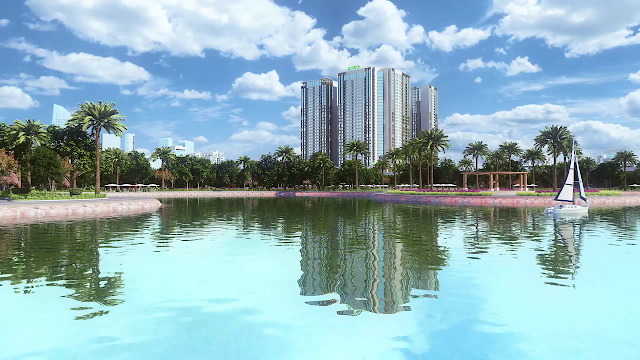 Phoi canh tong the du an Eco Green City