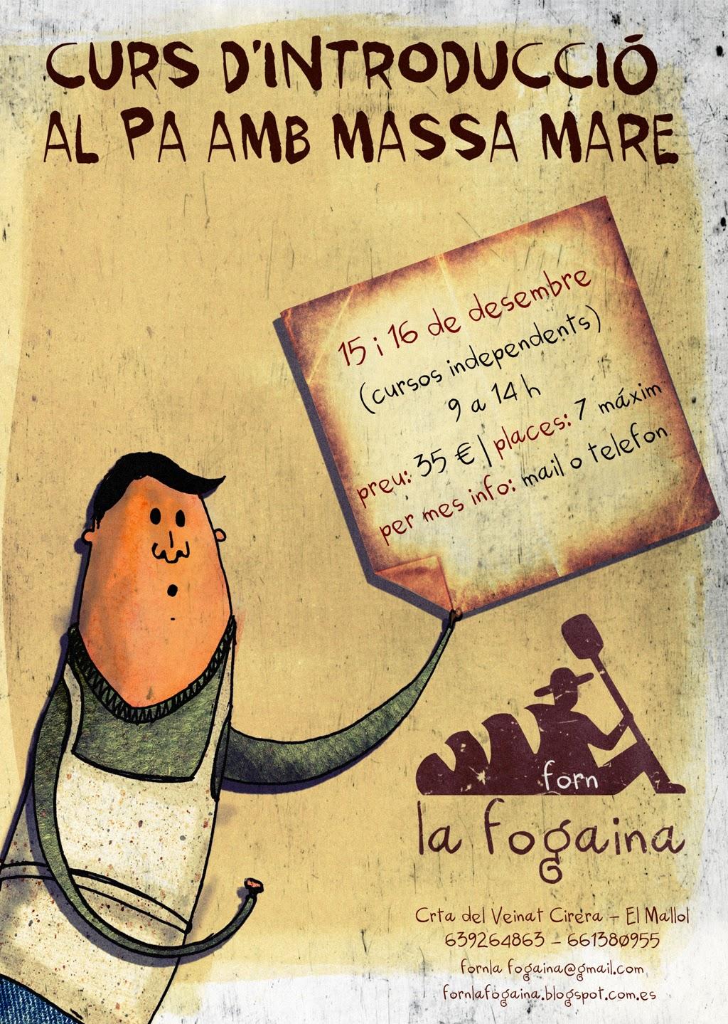 NUEVOS cursos en La Fogaina ¡Apúntate!