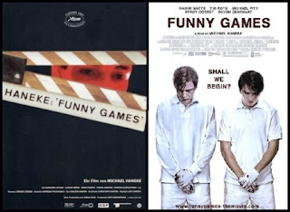 Remake Funny games, poster, cartel, carátula, portada