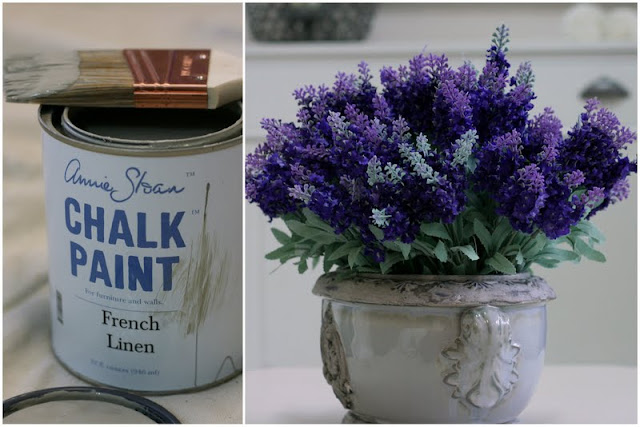 Annie Sloan Chalk Paint French Linen paint