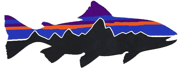 My leaky waders patagonia teams up with mlw for Patagonia fish sticker
