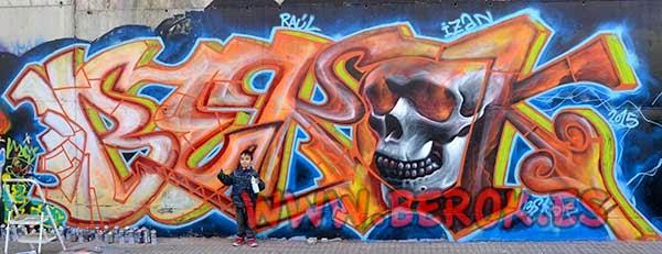 Graffitis Terrassa
