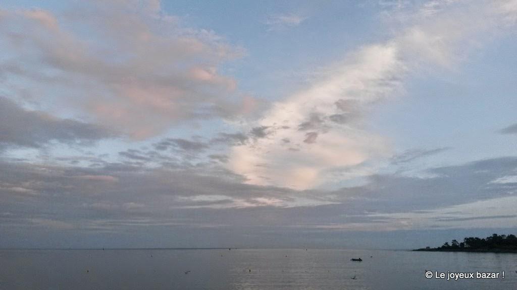 Bretagne - ciel de fin de journée