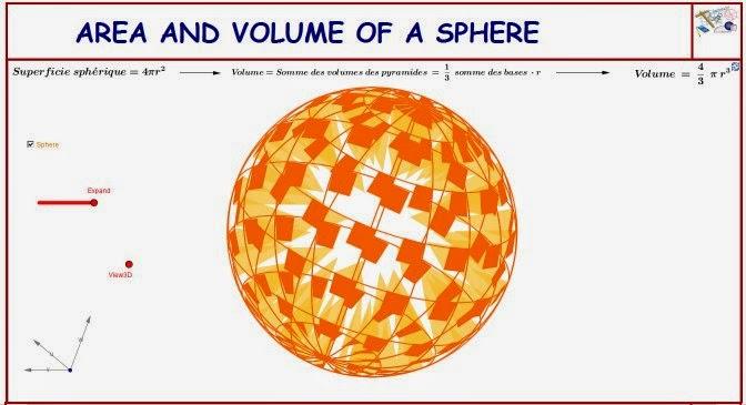 http://dmentrard.free.fr/GEOGEBRA/Maths/Nouveautes/4.25/SphereexpMD.html