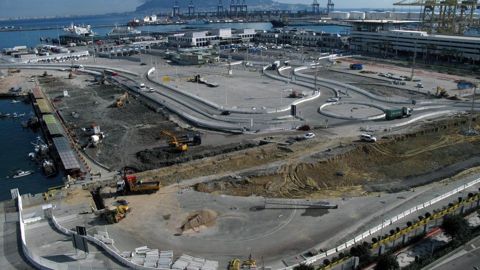 Puerto bah a de algeciras blog el puerto de algeciras inmerso en un intenso periodo de obras - Puerto de algeciras hoy ...